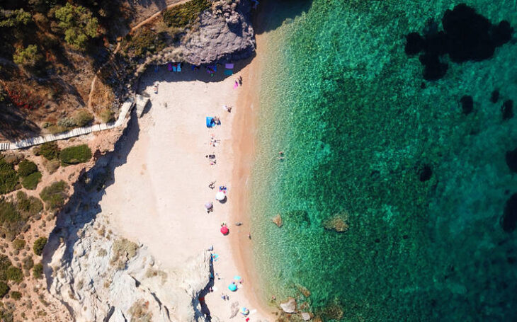 Παραλία ΚΑΠΕ: Σαν να είσαι σε Ελληνικό νησί