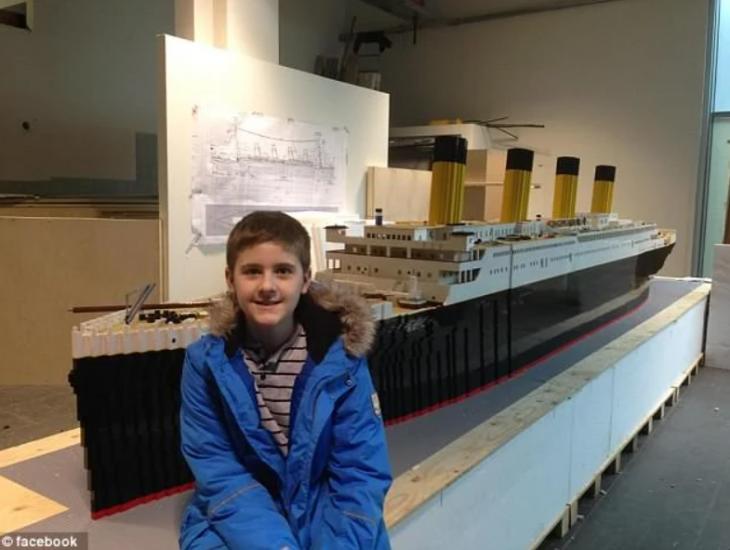 Αντίγραφο Τιτανικού: Το έφτιαξε πιτσιρίκος 15 ετών με αυτισμό με Lego