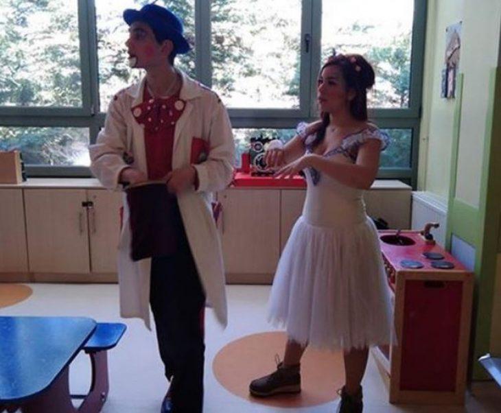 ΑΧΕΠΑ: Ο κλόουν που σκορπάει χαρά στα άρρωστα παιδιά