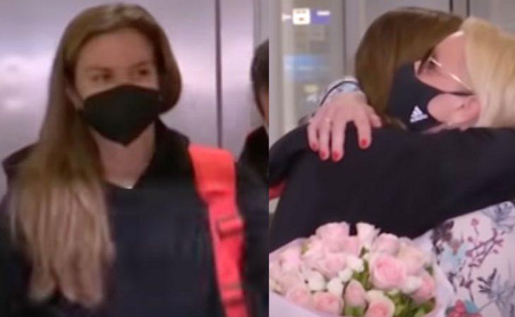 Μαρία Σάκκαρη: Έφτασε στην Ελλάδα και έπεσε στην αγκαλιά της μητέρας της – «Ευχαριστώ του Έλληνες»
