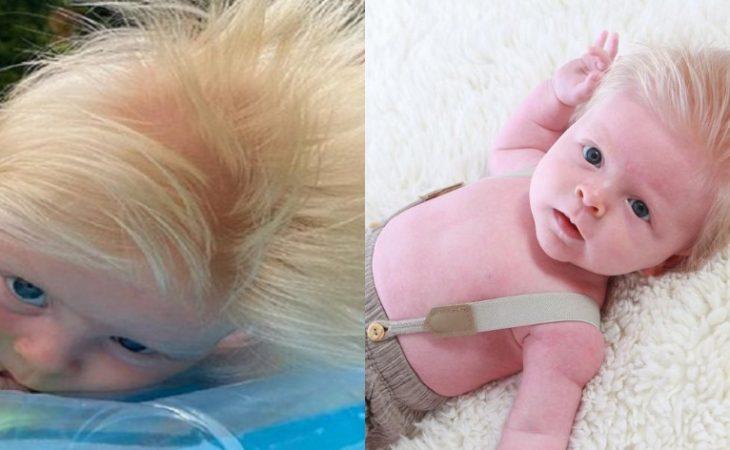 Μωρό Μπόρις Τζόνσον: Τρέλα στο Ίντερνετ για το μαλλί του