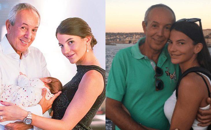 Γιάννης Κούστας – Δήμητρα Μέρμηγκα: Ο γάμος και η βάφτιση της κόρης τους