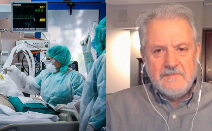 Καπραβέλος: «Θα έχουμε καταστροφή» με 50% ανεμβολίαστους
