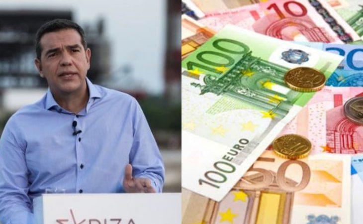 Αλέξης Τσίπρας: «Άμεση αύξηση κατώτατου μισθού στα 800 ευρώ»
