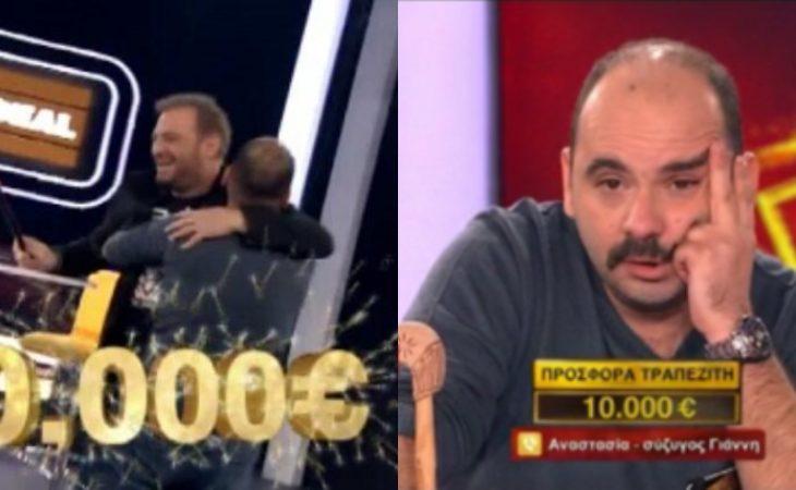 Deal: Πήρε τα 40.000 και ξύρισε το μουστάκι στον αέρα