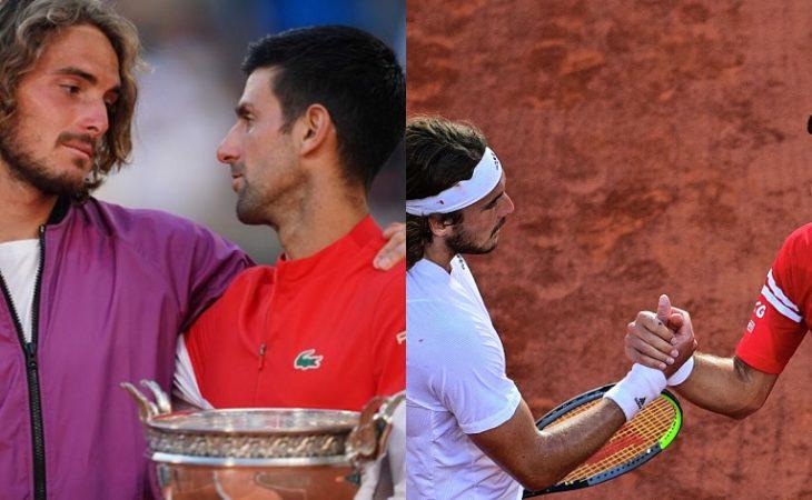 Τζόκοβιτς σε Τσιτσιπά: «Καταλαβαίνω πως νιώθεις, αλλά θα πάρεις πολλά Grand Slam»