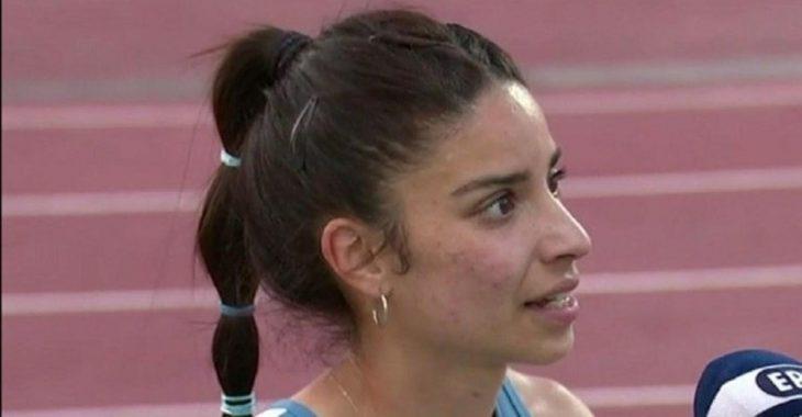 Ανθή Κυριακοπούλου: Πήρε το χρυσό μετάλλιο και το αφιέρωσε στον πατέρα της που πέθανε από κορονοϊό
