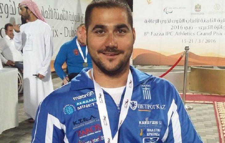 Μανώλης Στεφανουδάκης: Πρωταθλητής Ευρώπης με ατομικό ρεκόρ
