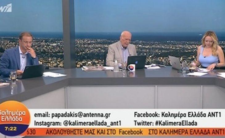 Γιώργος Παπαδάκης: Έξαλλος με τηλεθεατή - Τον αποκάλεσε σκουλήκι