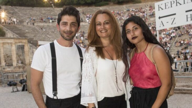 Χρήστος Σπανός: Ποζάρει με τη 19χρονη κόρη του