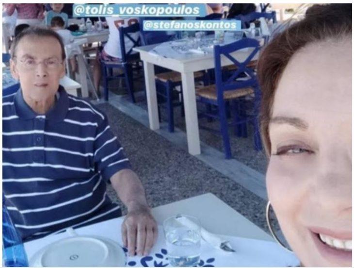 Τόλης Βοσκόπουλος: Εμφανώς ταλαιπωρημένος και αδυνατισμένος