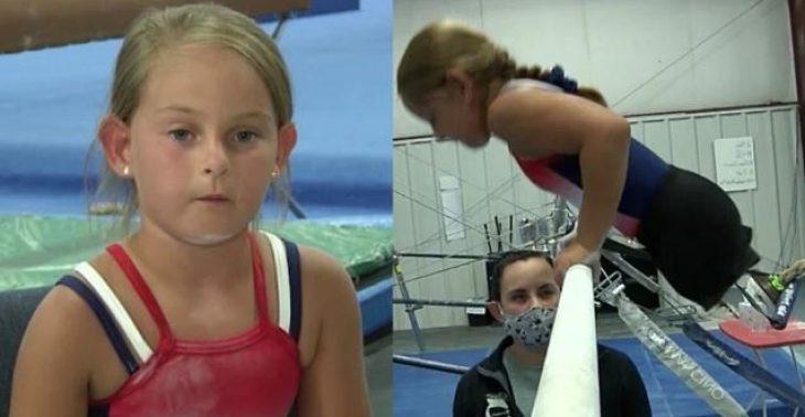 8χρονη χωρίς πόδια: Γίνεται αθλήτρια γυμναστικής και συγκινεί