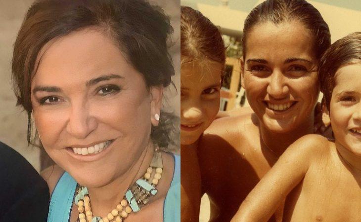 Ντόρα Μπακογιάννη: Η χαρούμενη γιαγιά και η φωτογραφία της με τα επτά εγγόνια