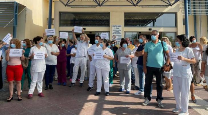 Υγειονομικοί προς κυβέρνηση: «ΟΧΙ» στην υποχρεωτικότητα