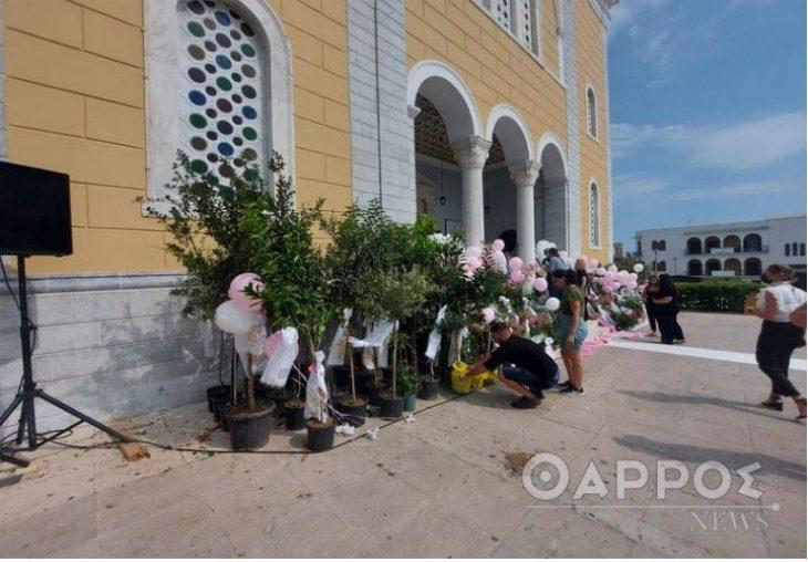 Σκηνές αρχαίας τραγωδίας στην Καλαμάτα: Ραγίσαν καρδιές στο τελευταίο αντίο στη μικρή Αναστασία