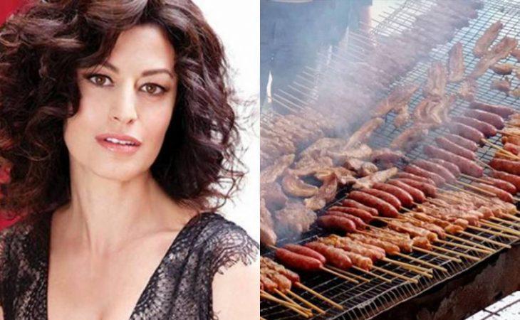 Δωροθέα Μερκούρη: «Δεν είναι ελκυστικό ένας άνδρας να τρώει πολύ κρέας»