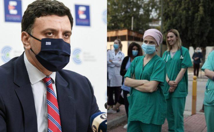 Βασίλης Κικίλιας: Όποιος υγειονομικός δεν εμβολιαστεί θα απέχει από την εργασία του χωρίς αποδοχές