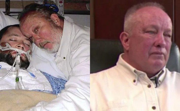 Αληθινή ιστορία: Πατέρας έσωσε τη ζωή του γιου του εισβάλλοντας με όπλο μέσα στο νοσοκομείο
