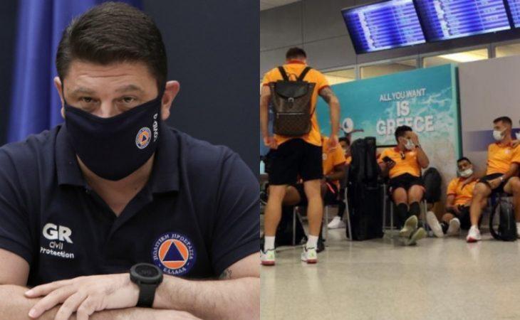 Νίκος Χαρδαλιάς: Η Γαλατάσαραϊ αρνήθηκε τα rapid test και με εντολή μου, τους απαγορεύτηκε η είσοδος