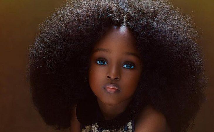 Ομορφότερο κορίτσι στον κόσμο: Η 5χρονη από τη Νιγηρία με το αγγελικό πρόσωπο