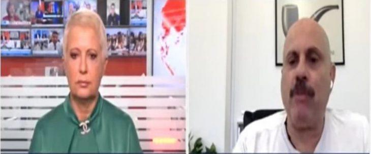 Δημήτρης Κούβελας: Έχω επιστημονική άποψη, η κ. Κοραή βλέπει το φλιτζάνι