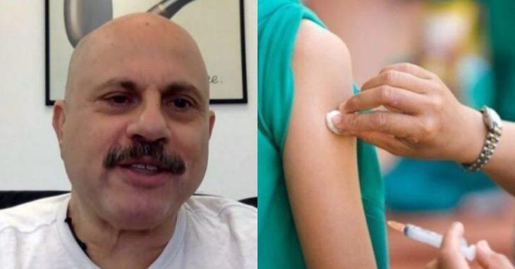 Δημήτρης Κούβελας: Προβαίνει σε νέες δηλώσεις για τον εμβολιασμό κατά του Covid-19.
