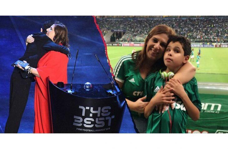 Καλύτερη οπαδός της χρονιάς η μητέρα που περιγράφει ποδοσφαιρικούς αγώνες στον τυφλό γιο της