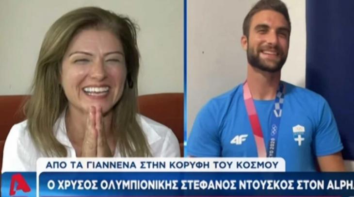 """Στέφανος Ντούσκος: Η συνομιλία στον αέρα με την """"Ελληνίδα μάνα"""" – «Μας έχεις τρελάνει. Τι μας έχεις κάνει;»"""