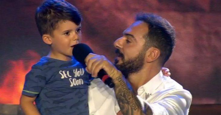 Γιος Τριαντάφυλλου: Τραγούδησε στον τελικό του Survivor
