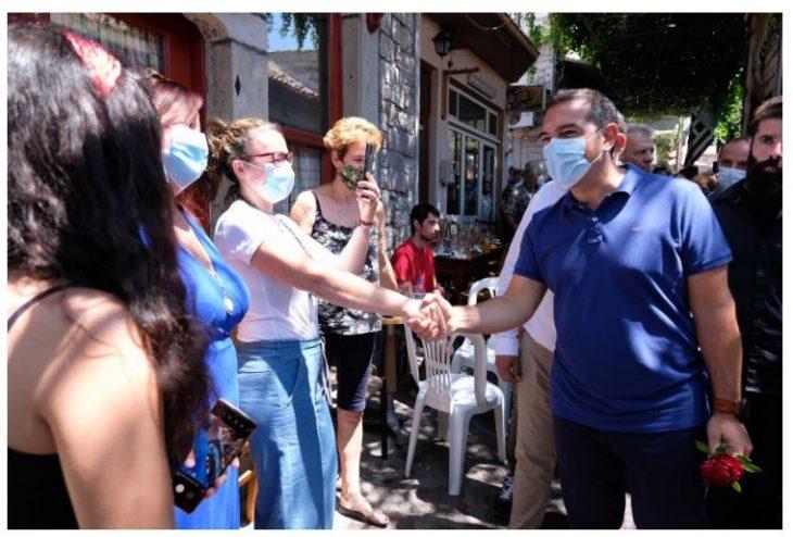 Αλέξης Τσίπρας: Η επίσκεψη του σε χωριά της Ελλάδας και οι φωτογραφίες