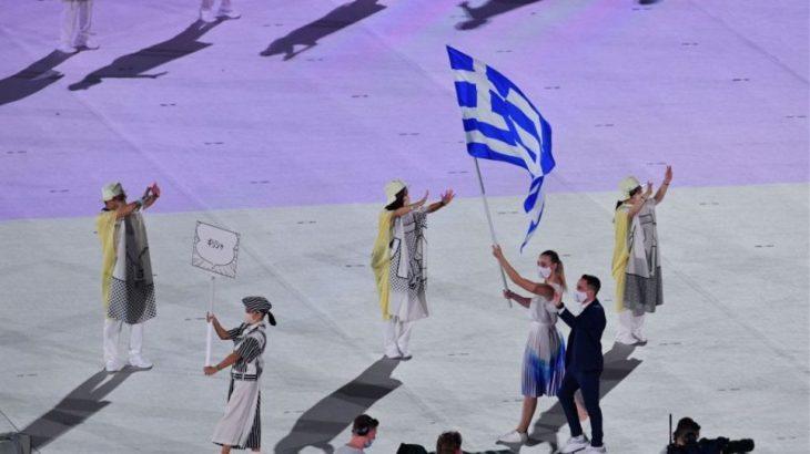 Τελετή Έναρξης Ολυμπιακών Αγώνων: Πετρούνιας και Κορακάκη μπαίνουν πρώτοι στο στάδιο