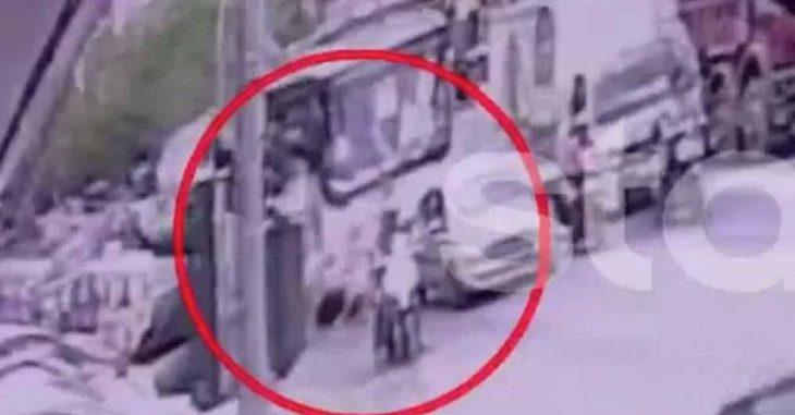 Νίκαια: Η τραγική στιγμή που η 7χρονη Παναγιώτα περνάει το δρόμο