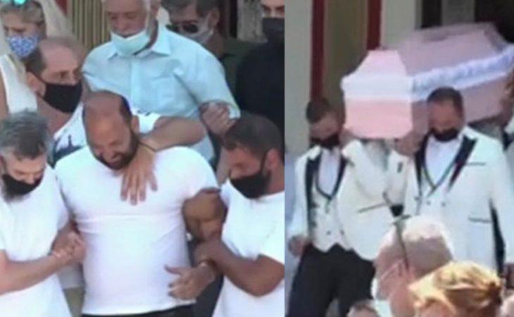 Κηδεία 7χρονης Παναγιώτας: Σε κλίμα βαθιάς οδύνης το τελευταίο «αντίο»