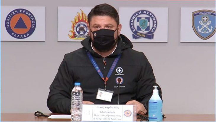 Νίκος Χαρδαλιάς: Διαχειριζόμαστε 55 πυρκαγιές παράλληλα