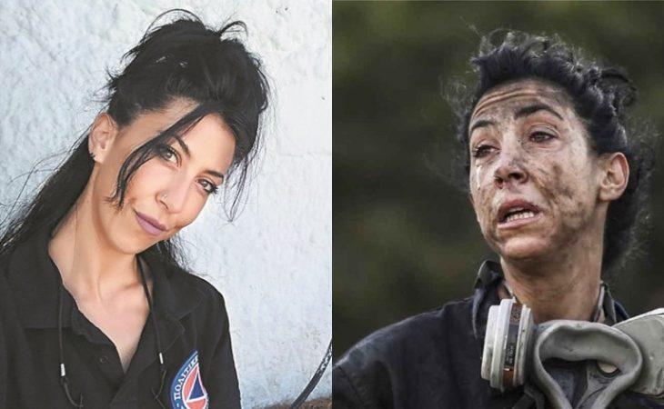 Κατερίνα Ιωαννίδου: Αυτή είναι η πυροσβέστρια που έγινε viral