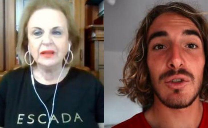 Ματίνα Παγώνη: Η αποστομωτική απάντηση στο Στέφανο Τσιτσιπά σε ζωντανή μετάδοση
