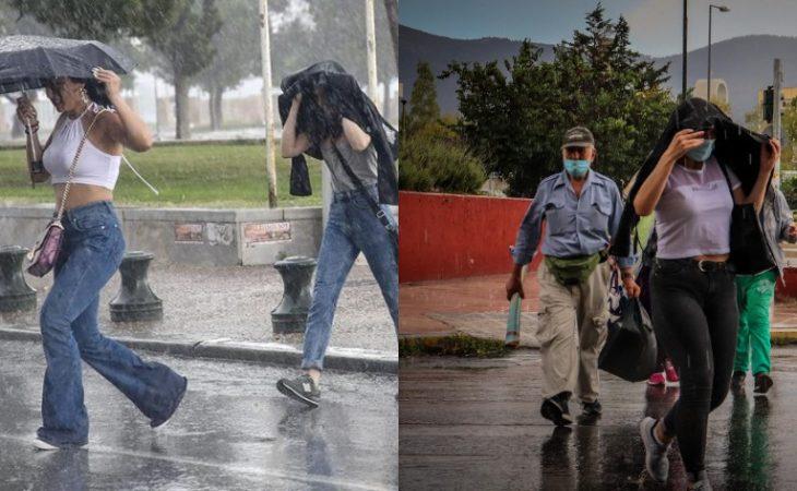 Δελτίο επιδείνωσης καιρού: Καλοκαίρι τέλος - Έρχονται ισχυρές καταιγίδες τις επόμενες μέρες