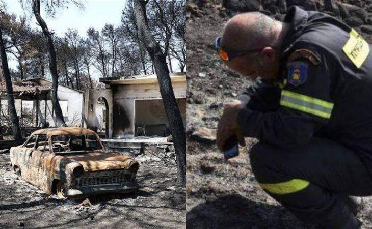 """Εξομολόγηση εθελόντριας σε πυρκαγιές: 13,26 ευρώ για σοκοφρέτες ήταν η """"ανταμοιβή"""" μου, για τις υπηρεσίες μου στις φωτιές στο Μάτι"""