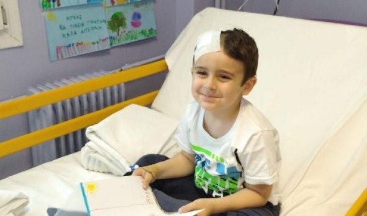 5χρονος Άγγελος: Κερδίζει τη μάχη με τον καρκίνο