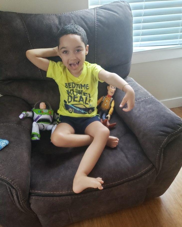 6χρονο αγόρι: Νίκησε την αναπηρία και έπαιξε ξανά σαν παιδί