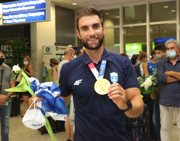 Στέφανος Ντούσκος: Μεγάλη υποδοχή στα Ιωάννινα για το χρυσό Ολυμπιονίκη