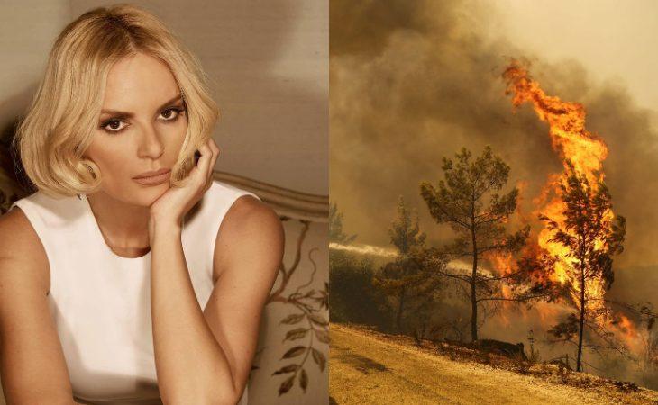 Έλενα Χριστοπούλου: «Σε μια τέτοια τραγωδία που βιώνει η χώρα, δείχνετε πώς περνάτε στις διακοπές σας»