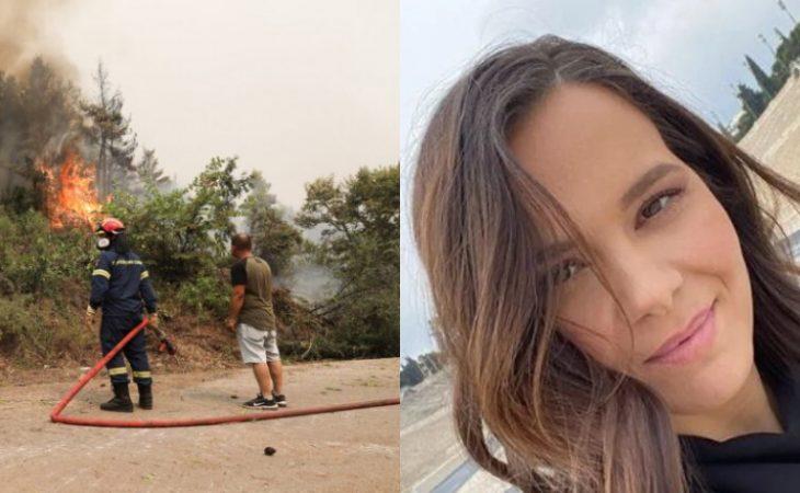 Ελιάνα Χρυσικοπούλου: Η άγρια επίθεση για τον εθελοντισμό στις φωτιές και η αποστομωτική απάντησή της