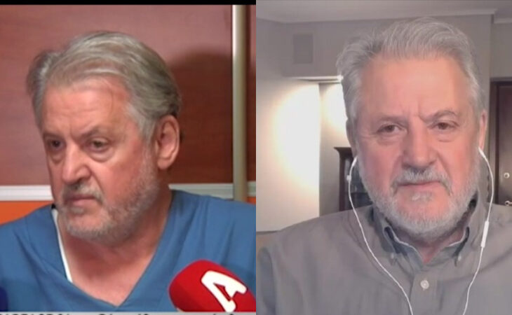 Νίκος Καπραβέλος: «Μπορεί να έχουμε 10.000 κρούσματα κι 100 νεκρούς τη μέρα το φθινόπωρο»