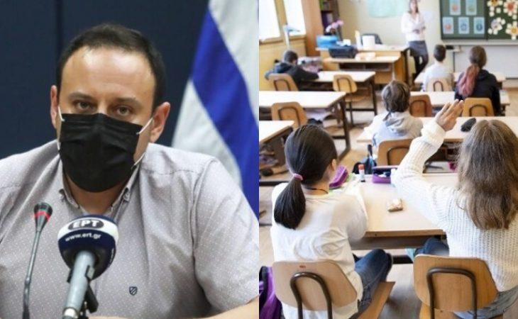 Γκίκας Μαγιορκίνης: «Πιθανός ο υποχρεωτικός εμβολιασμός μαθητών»