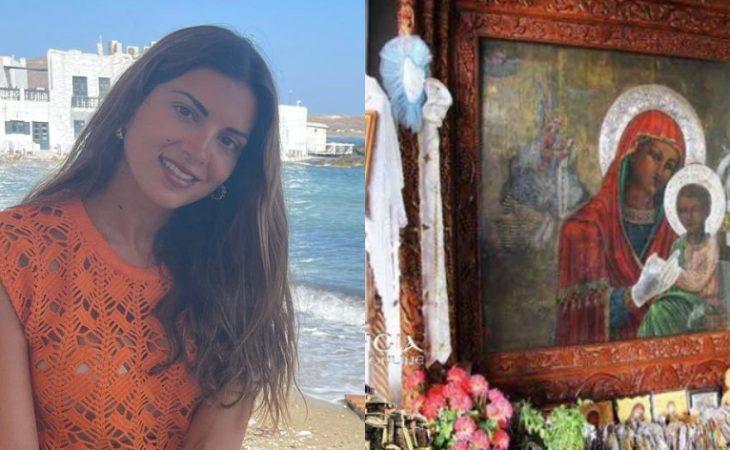 Σταματίνα Τσιμτσιλή: «Προσκύνησα την Παναγία Τσαμπίκα στη Ρόδο και μετά έμεινα έγκυος πρώτη φορά»