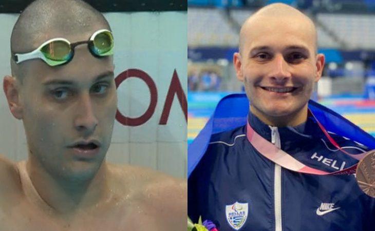 Δημοσθένης Μιχαλεντζάκης: Χάλκινος ο Παραολυμπιονίκης στα 100μ. ελεύθερο