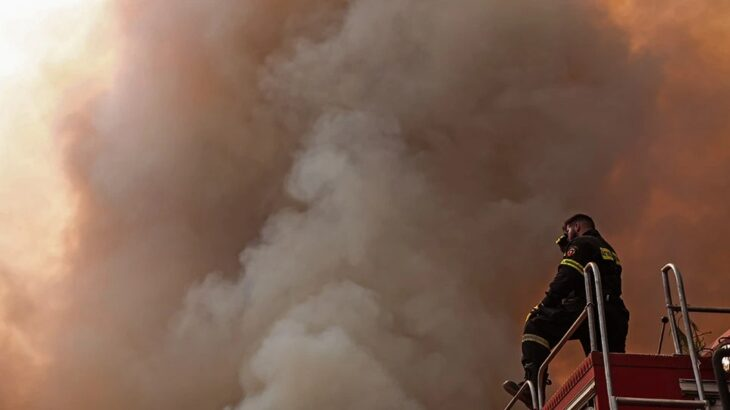 Νεκρός πυροσβέστης στην Ιπποκράτειο Πολιτεία