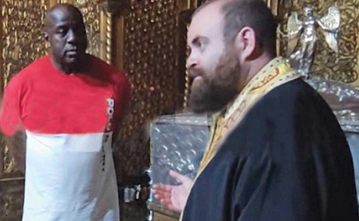 Μάτζικ Τζόνσον: Επισκέφτηκε και προσκύνησε τον Άγιο Διονύσιο στη Ζάκυνθο