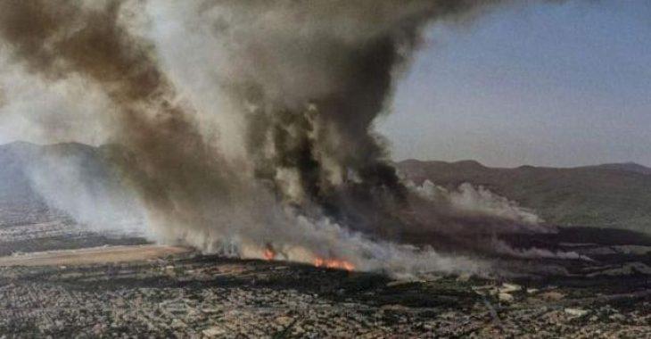 Αποκάλυψη για τη φωτιά: Πώς κάηκε η Βαρυμπόμπη χωρίς να φυσά με μόλις 2 μποφόρ